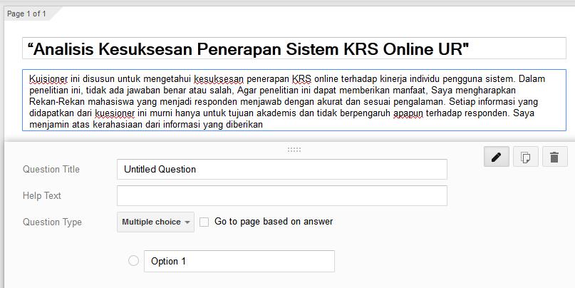 Cara Membuat Kuesioner Online Di Hp