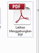 latihan menggabungkan pdf