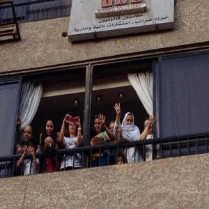 rakyat mesir mendukung aksi dari rumah