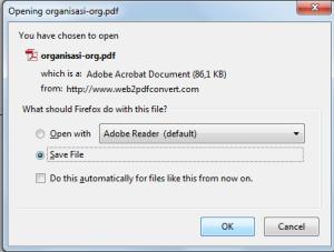 save hasil pdf