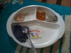 5. ubi ungu salmon wortel kacang hijau